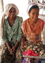 Handicraft tours - soap making demonstration