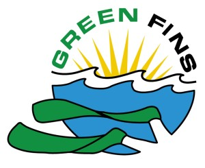 Green Fins Logo - large