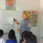 Teaching at the Burmese Learning Center
