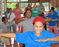 Southern Thailand Andaman tourism - shared community activities