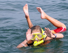 Thailand tours - Ecotour activities snorkeling