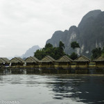 Floating Bungalow at Khao Sok National Park