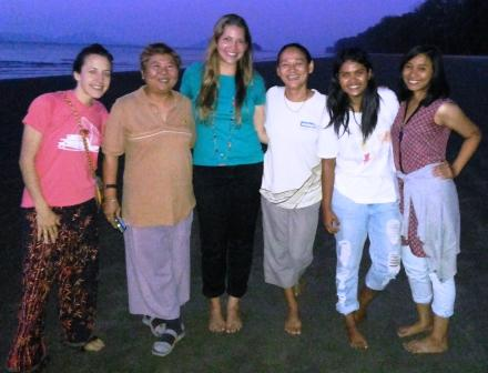 The lovely ladies of Andaman Discoveries!