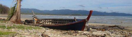 Khao Lak - tsunami damage