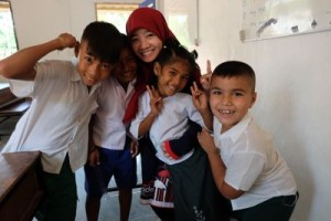 With the BLC children