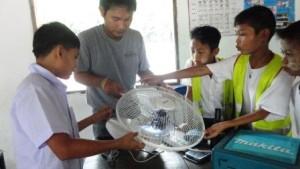 BLC fan installation