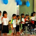 Thailand volunteer kids performance
