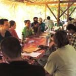 Community based tourism training at Khao Sok Thailand