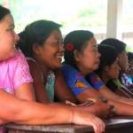 Parents at the parents meeting at the burmese learning center Kuraburi