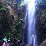 Sai Khao Waterfall in Sai Khao National Park near our homestay in Thailand in Sai Khao Patthani
